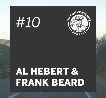 Al Hebert and Frank Beard gas stations convenience stores 30 days of gas station food podcast